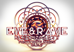 Party flyer: eve&rave Benefizparty 2017 20 Oct '17, 23:00