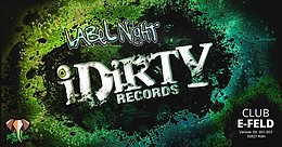 Party flyer: IDirty Records Label Night 20 Oct '17, 22:00