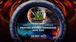 Party flyer: Psybox 25 Oct '17, 22:00