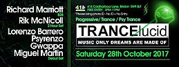 Party flyer: TRANCElucid - October Party (Day Party) 28 Oct '17, 03:00