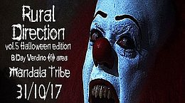 Party flyer: Rural Direction Vol.5 (Halloween edition) 31 Oct '17, 22:00