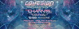 Party flyer: Cohesion Psytrance Adventure 4 Nov '17, 23:00