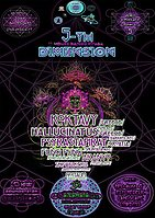 Party flyer: 5-TH Dimension 10/11-11/11 (Universal synchronicity) 10 Nov '17, 22:00
