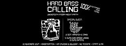 Party flyer: Hard Bass Calling vol.1 10 Nov '17, 23:00