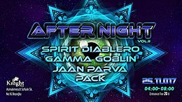 Party flyer: AFTER NIGHT Vol.II 25 Nov '17, 04:00