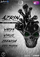 Party flyer: AZRIN Live in Chennai 25 Nov '17, 20:00
