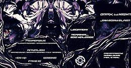 Party flyer: Dark (K)Night Jan Birthday BLAST 1 Dec '17, 21:00