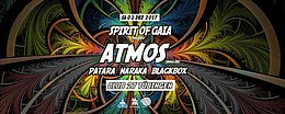 Party flyer: Spirit of Gaia - Atmos (Iboga Rec.) 2 Dec '17, 22:00