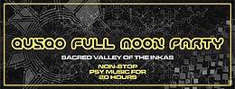 Party flyer: QUSQO FULL MOON PARTY 3 Dec '17, 13:00