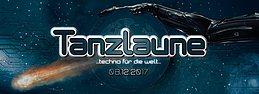 """Party flyer: Tanzlaune """"Techno für die Welt"""" 8. Dez 17, 22:00"""