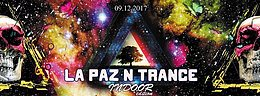 Party flyer: La Paz N Trance | Indoor Edition 9 Dec '17, 21:00