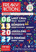 Party flyer: FREAKY FICTION 13 Dec '17, 23:00
