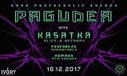 Party flyer: Pagudea #3 w/ Kasatka 16 Dec '17, 22:00