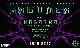 Party flyer: Pagudea #3 w/ Kasatka 16 Dec '17, 22:00