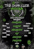 Party flyer: The Dark Code - Mutation 2018 30 Dec '17, 08:00