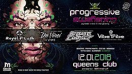 Party flyer: Psybox - Progressive Awakening - 2018 12 Jan '18, 22:00