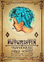 Party flyer: Futuristix with Transdriver 13 Jan '18, 21:00