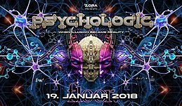 Party flyer: PsychoLogic 7 ॐ Ab 20 Jahren ♫ Antonymous + Daksinamurti ♫ First 50 Free 19 Jan '18, 21:00