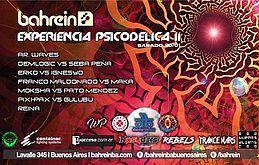 Party flyer: Sabado 20/1 D.B & F.A: Experiencia Psicodelica II @Bahrein 20. Jan 18, 23:59