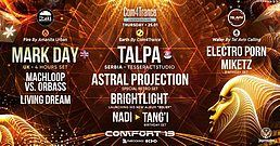 Party flyer: Com4Trance :Talpa ✪ Mark Day ✪ Astral Projection ✪ Brightlight 25 Jan '18, 01:00