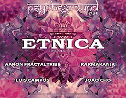 Party flyer: PsYcHeGrOuND presents: Totem with Etnica and guests 27 Jan '18, 22:00