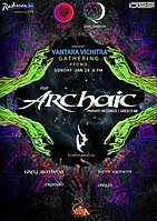 Party flyer: Vantara Vichitra Gathering Promo feat. Archaic 28 Jan '18, 18:00