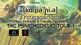 Party flyer: The Psychedelic Tour 1 :: Sex 02 Fev :: Companhia Club 2 Feb '18, 23:55