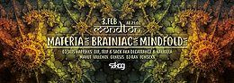 Party flyer: Mondton w/ Materia, Brainiac & Mindfold live! 3 Feb '18, 21:00