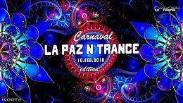 Party flyer: La Paz N Trance | Carnaval edition 10 Feb '18, 22:00