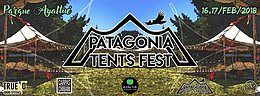Party flyer: Patagonia Tents Fest ★ 16 y 17 Feb ★Huelmo, Puerto Montt ★ Chile 16 Feb '18, 15:00