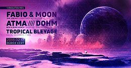 Party flyer: New Moon Winter Festival 17 Feb '18, 22:00