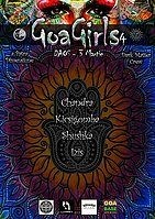 Party flyer: Goa Girls 4 3. Mrz 18, 22:00