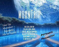 Party flyer: MoonTrip 3 Mar '18, 22:00