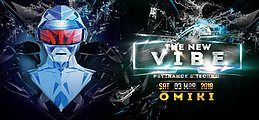 Party flyer: The New VIBE 22 w/ Omiki uvm. 3 Mar '18, 23:00