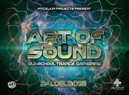 Party flyer: Art of Sound 24 Mar '18, 20:30