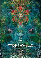 "Party flyer: Treibholz VII - ""Lawn Of The Sylvan Spirit"" - Forest Gathering 13. Apr 18, 20:00"