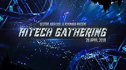 Party flyer: Hitech Gathering 2018 • Technical Hitch • MetaHuman 28 Apr '18, 22:00