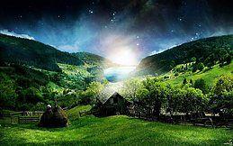 Party flyer: Open Air för fest inför ~The light will shine From The Darkness~ 9. Jun 18, 12:00