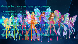 Party flyer: Winx Club The Valley - the Dreamix Power trance 21 Jun '18, 19:30
