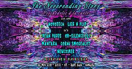 Party flyer: TNS: Psychedelic à la Carte (Novotech & Lick N Flip Live) 22 Nov '19, 23:00