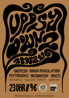 Party flyer: UpPSyDown 2 28 Dec '19, 23:00