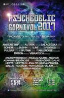 Party flyer: Psychedelic Carnival 2017 - psychedelic trance festival 24 Feb '17, 15:00