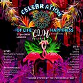 Party flyer: Celebration of life n happiness 6th edition, London 11 Jan '20, 23:00