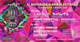 Party flyer: Hamsá Psytrybo 3º Aniversario at Massas Club // Parte 1 17 Jan '20, 23:30