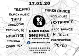 Party flyer: Hard bass Shuffle - Dj Rotation Party 17 Jan '20, 23:00