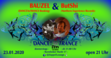 Party flyer: DANCE! to TRANCE 23 Jan '20, 21:00