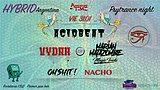 Party flyer: Psytance night at PPB // 50P h 2am // Hybrid Argentina 31 Jan '20, 23:00