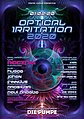 Party flyer: Optical Irritation 2020 1 Feb '20, 23:00