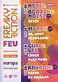 Party flyer: FREAKY FICTION 5 Feb '20, 23:00