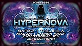 Party flyer: Hypernova 2020 / Möge die Nacht mit dir sein / Hitech / Knobs and Keys Records 7 Feb '20, 23:00